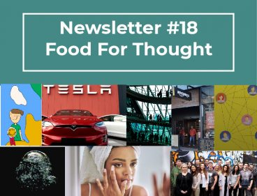 NEWSLETTER #18 – FOOD FOR THOUGHT